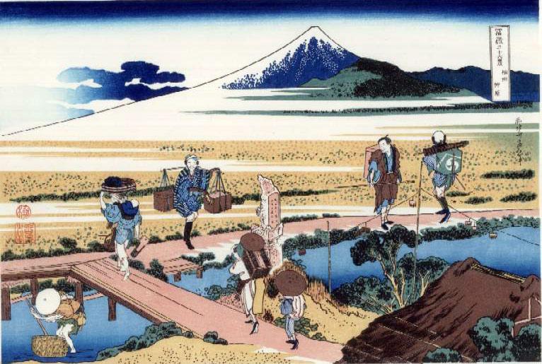 Тридцать шесть видов Фудзи